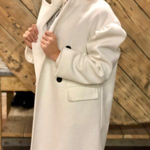Manteau Oversize - Blanc