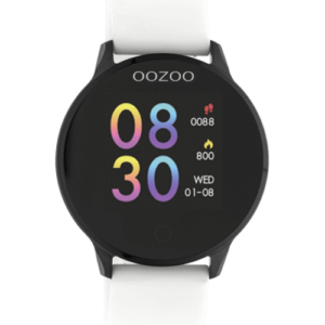 Montre Connectée Oozoo Smartwatch White - Black