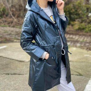 Veste Ninon - Bleu métallique