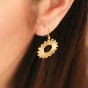 Boucles d'oreilles Soleil - Zag